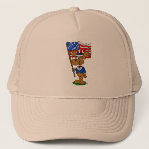 93f44017b08 Moose Cartoon Hats   Caps