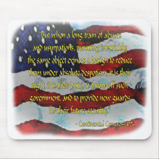 Patriot Mouse Pads: Independence