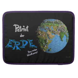 Patriot of the earth sleeve for MacBook pro