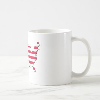 Patriot on Flag Coffee Mug
