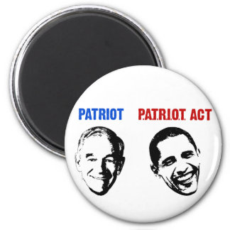 Patriot / Patriot Act 2 Inch Round Magnet