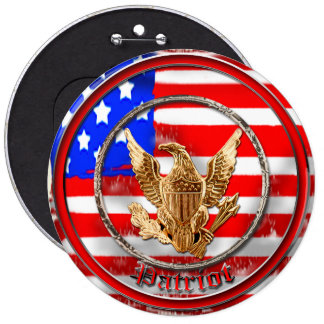 Patriot Pinback Button