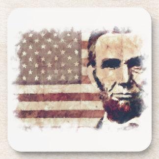 Patriot President Abraham Lincoln Coaster