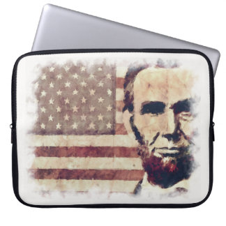 Patriot President Abraham Lincoln Laptop Sleeve