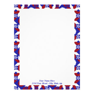 Patriot Quilt custom Letterhead