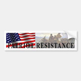 Patriot Resistance bumper sticker Car Bumper Sticker