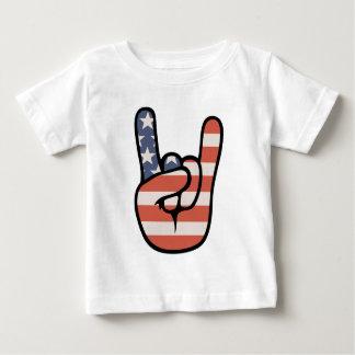 Patriot Rock Hand Baby T-Shirt