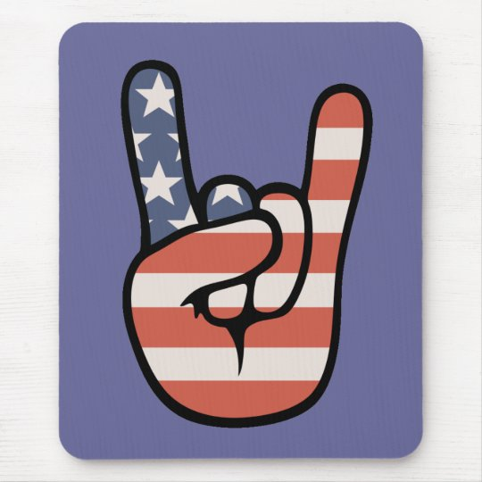 Patriot Rock Hand Mouse Pad