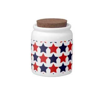 Patriot Stars Candy Dishes