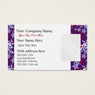 Patriot Stars custom Business Card