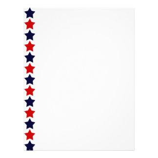 Patriot Stars Letterhead