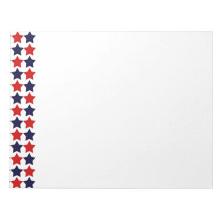 Patriot Stars Memo Note Pad