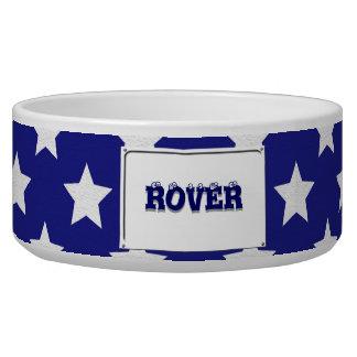 Patriot stars pattern bowl
