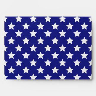 Patriot stars pattern envelope