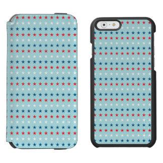Patriot Stars Pattern iPhone 6/6s Wallet Case