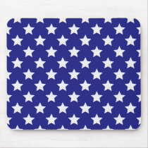 Patriot stars pattern mouse pad