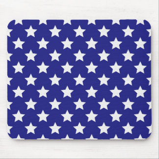 Patriot stars pattern mouse pad