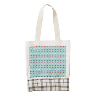 Patriot Stars Pattern Zazzle HEART Tote Bag