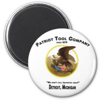¡Patriot Tool Company, no vendemos la mierda impor Iman Para Frigorífico