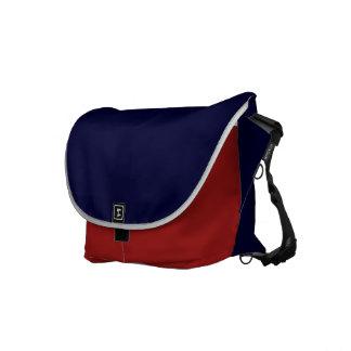 Patriota 2, rojo, blanco, azul bolsas messenger
