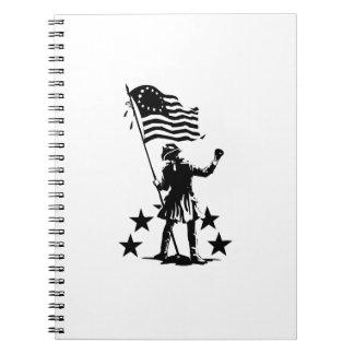 Patriota americano libro de apuntes