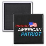 Patriota americano orgulloso imán