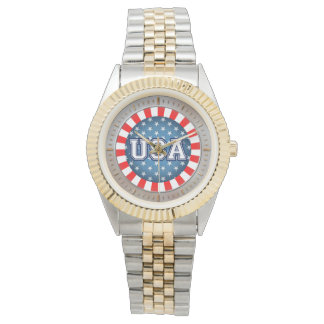 Patriota americano reloj