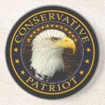 Patriota conservador 2 posavasos diseño