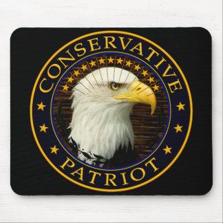 Patriota conservador 2 tapetes de raton