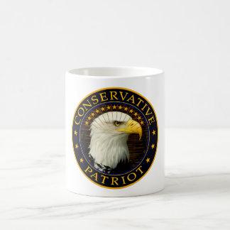 Patriota conservador 2 taza clásica