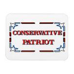 Patriota conservador imán flexible
