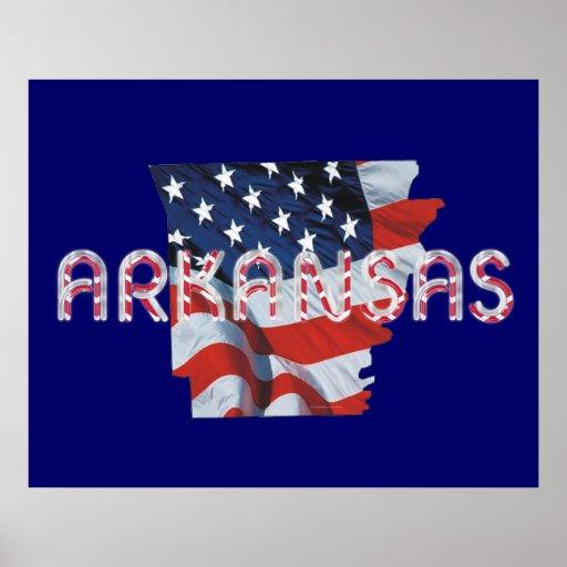 Patriota de Arkansas de la CAMISETA Impresiones