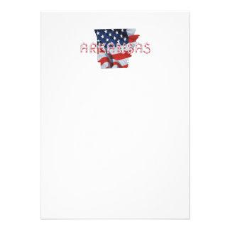 Patriota de Arkansas de la CAMISETA Invitaciones Personales