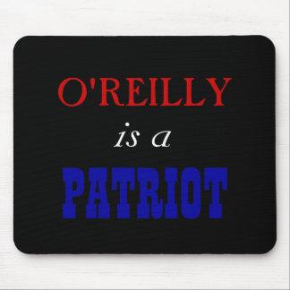 Patriota de Bill O'Reilly Tapetes De Raton