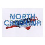 Patriota de Carolina del Norte de la CAMISETA Plantillas De Tarjeta De Negocio