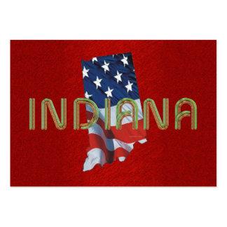 Patriota de Indiana de la CAMISETA Tarjeta Personal