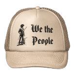 Patriota de la fiesta del té gorras