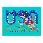 Patriota de la Florida de la camiseta Postal