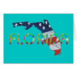 Patriota de la Florida de la camiseta Tarjetón