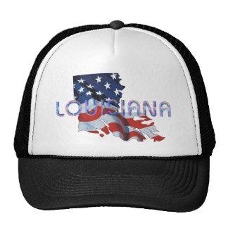 Patriota de Luisiana de la CAMISETA Gorra