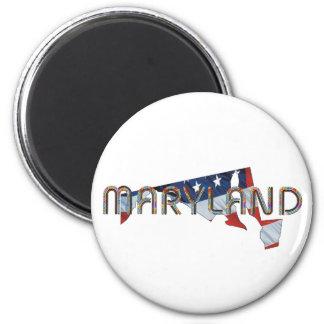 Patriota de Maryland Imán Redondo 5 Cm