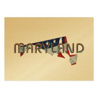 Patriota de Maryland Tarjetas De Visita Grandes
