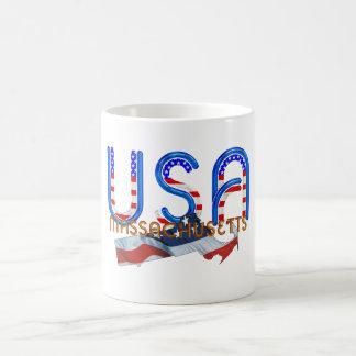 Patriota de Massachusetts de la CAMISETA Taza