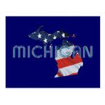Patriota de Michigan de la CAMISETA Postal