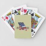Patriota de Missouri de la CAMISETA Baraja Cartas De Poker