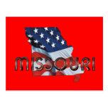 Patriota de Missouri de la CAMISETA Postal