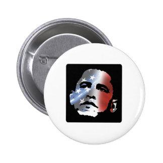 Patriota de Obama Pin Redondo De 2 Pulgadas