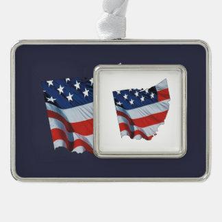 Patriota de Ohio de la CAMISETA Adornos Con Foto