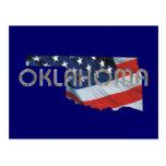 Patriota de Oklahoma de la CAMISETA Tarjetas Postales