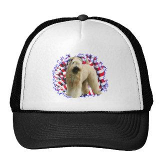Patriota de trigo suavemente revestido de Terrier Gorros